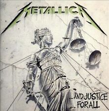 And Justice for All by Metallica CD Album 1988 Blackened Recordings