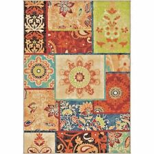 RUGS AREA RUGS 8x10 AREA RUG CARPET MODERN RUGS COLORFUL RUGS PATCHWORK RUG NEW~