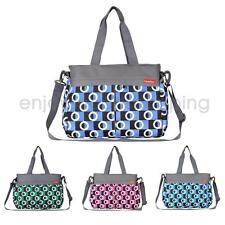 Baby Diaper Mat Bag Mummy Shoulder Handbag Nappy Changing Maternity Tote Bag NEW
