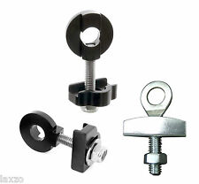 """BMX Fixie Chain Tugs Tensioners Adjusters Pair in 10mm 14mm 3/8"""" Bicycle Bike"""