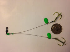 Ice Fishing Tip Up Rig/Lure 5 Colors Available (Northern Pike, Muskie, Walleye)