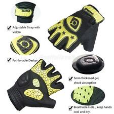 Specialized Fingerless Cycling Gloves Half Finger Less Silicone Gel Padded Palm