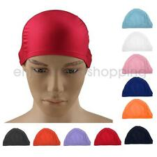 Adults Womens Mens Caps Swim Cap Men's Women's Lady Pool Swimming Hat Long Hair