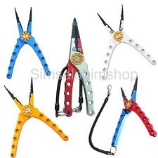 Aluminum Fishing Pliers Fish Lip Grip Gripper Grippers Cutters Hooks Remover