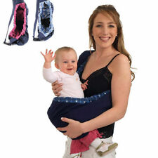 Infant Baby Carrier Newborn Kid Sling Wrap Rider Backpack Comfort Sling