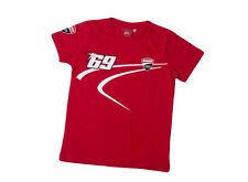 New Official Nicky Hayden 69 Kids Red Ducati T'Shirt