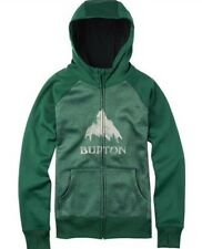 NWT Burton Women Dryride Hoodie Sweatshirt Full Zip Sweatshirt Jacket S, M Green