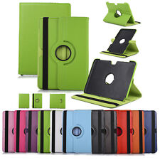 For Samsung Galaxy Note 10.1 N8000 Luxury Leather Swivel Stand Folio Case Cover