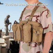 Military Army Tactical Bellyband Carrier Vest Army Hunting Tactical Pouches X7I5