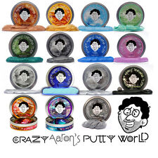 "Crazy Aaron's Thinking Putty Large 4"" Tins 3.2oz (You Pick Color & Type) Therapy"