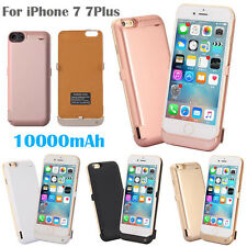 USB 10000 External Power bank Pack backup battery Charger Case For iPhone 7 Plus