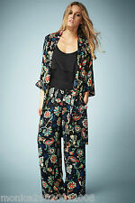 Kate Moss for Topshop Paisley Wide Leg Pants SIZE UK10/EUR38/US6 NEW