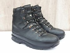Genuine Army Surplus German Forces Mountain Boot Boots Black Leather Grade 1