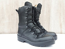 Genuine Army Surplus German Forces Para Boot Boots Black Leather MK6 Supergrade