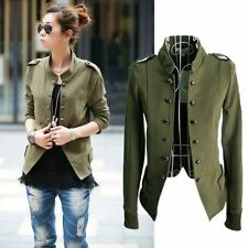 Women's Fashion Slim Button Casual Business Blazer Suit Jacket Coat Outwear