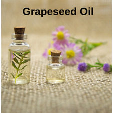 GRAPESEED OIL- Cold Pressed 100% Pure FREE P&P Massage Carrier Base Aromatherapy