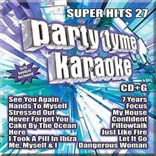 Party Tyme Karaoke:super Hits 27 Compact Disc