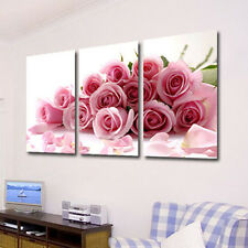3 Pcs Romantic Love Theme Painting Frameless Pictures Living Room Decor High-End