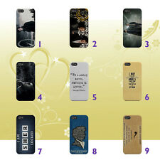 Sherlock TV Series & Holmes & Quotes for iPhone & Samsung Phone Case Cover