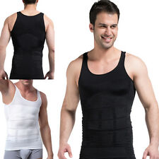 New Mens Body Slimming Tummy Shaper Belly Underwear Shapewear Waist Girdle Vest