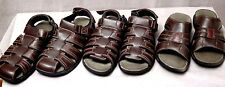 DOCKERS Open, Closed Toe Fisherman & Slide Leather Sandals Size 11 BNWB