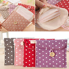 Women Sanitary Towel Napkin Pad Dainty Purse Holder Case Bag Organizer 4-Colors