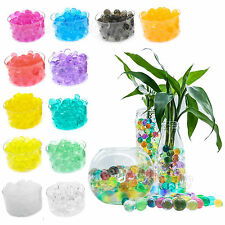 Colorful Crystal Mud Soil Planting Flower Water Pearls Jelly Gel Beads Balls