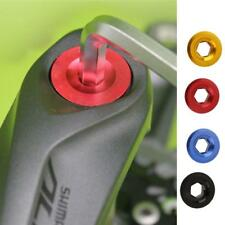 Aluminum Alloy Anodized Arm Fixing Cap Bolt Bicycle Crank Chain Screw Axis