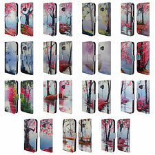 OFFICIAL GRAHAM GERCKEN TREES LEATHER BOOK WALLET CASE COVER FOR HTC PHONES 1