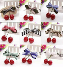 2pcs Cherry New Hair Accessories Hair Pin Hairpin Clips Baby Child Girl Hot
