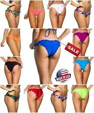 COQUETA Brazilian Size New Swimwear Thong Ripple Women s Sale Bikini Bottom Sexy