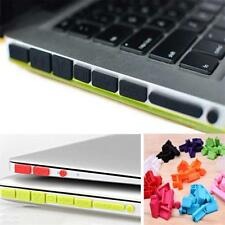Silicone Rubber Anti-Dust Plug Cover Stopper for MacBook Air Retina11 13Ports