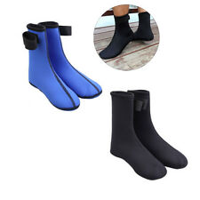 1 Pair Neoprene 3mm Thick Beach Water Shoes Swimming Diving Socks Surfing Sport