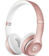 Beats by Dr. Dre Solo 2 Wireless Headband Headphones - Special Edition Rose Gold