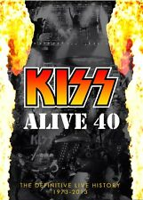 KISS Alive 40 8 CD Box Set - 1973-2013 - Rare Live - Over 150 Songs!