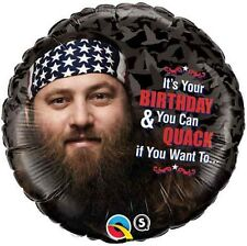 "18"" Duck Dynasty Hey! Foil Balloon"