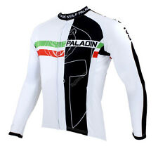 Men Long Sleeve Cycling Jersey Bicycle Bike Rider Sportwear Apparel CX20