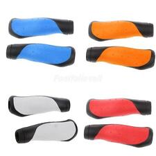 MTB Mountain Bike Bicycle Handlebar Soft Rubber Bar Hand Grips Cover 4 Colors