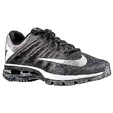 Nike Air Max Excellerate 4 - Men's Running Shoes (BK/WT/Pure Platinum/Reflectiv