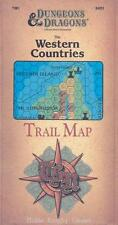 TSR Basic D&D Western Countries Trail Map, The SC VG