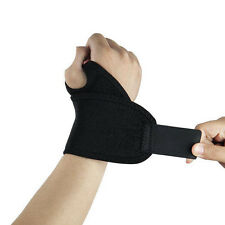 Sprains Carpal Tunnel Wrist Strain Strap Brace Guard Band Magnetic 1Pcs Support