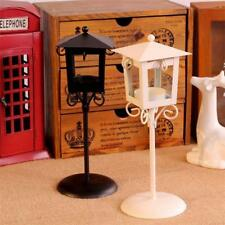 White/Black Street Light Lamp Candle Holder Tea Light Stand Centerpiece Decor