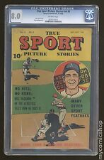 True Sport Picture Stories Vol. 4 (1947) #9 CGC 8.0 (0279173015)