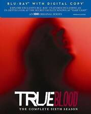 True Blood: The Complete Sixth Season 6 (Blu-ray + Digital, 2014, HBO) NEW!