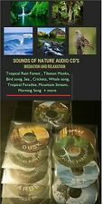 BIRD SONG NATURE SOUNDS AUDIO CD CRICKET TROPICAL SEA #Meditation #Relaxation