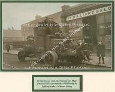 War of Independence British Troops & Armoured Car Old Irish Photo - Size Select