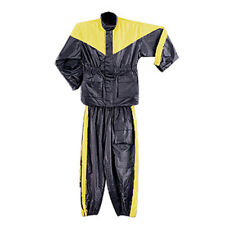 Two Piece Yellow Motorcycle Rain Gear Suit