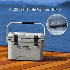 20L COOL BOX PORTABLE COOLBOX INSULATED COOLER ICE FOOD DRINKS TRAVEL CAMPING WP