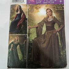 Renaissance Maiden Medieval Princess Gown Simplicity 4940 Costume Sewing Pattern