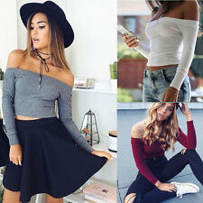 Pullovers Fashion Women Casual Stretch 1PCS Fit Long Sleeve Hot Knitted Sweaters